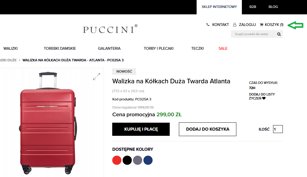 puccini sklep online
